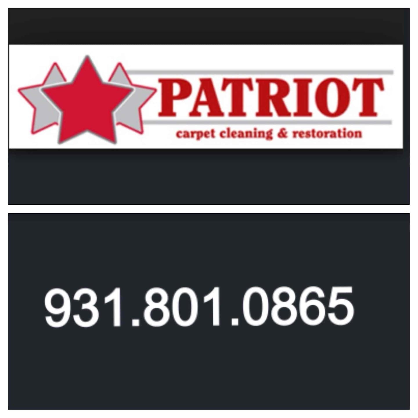 Patriot Carpet Cleaning and Restoration