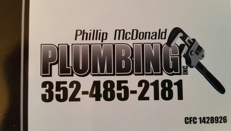 Phillip McDonald Plumbing, INC
