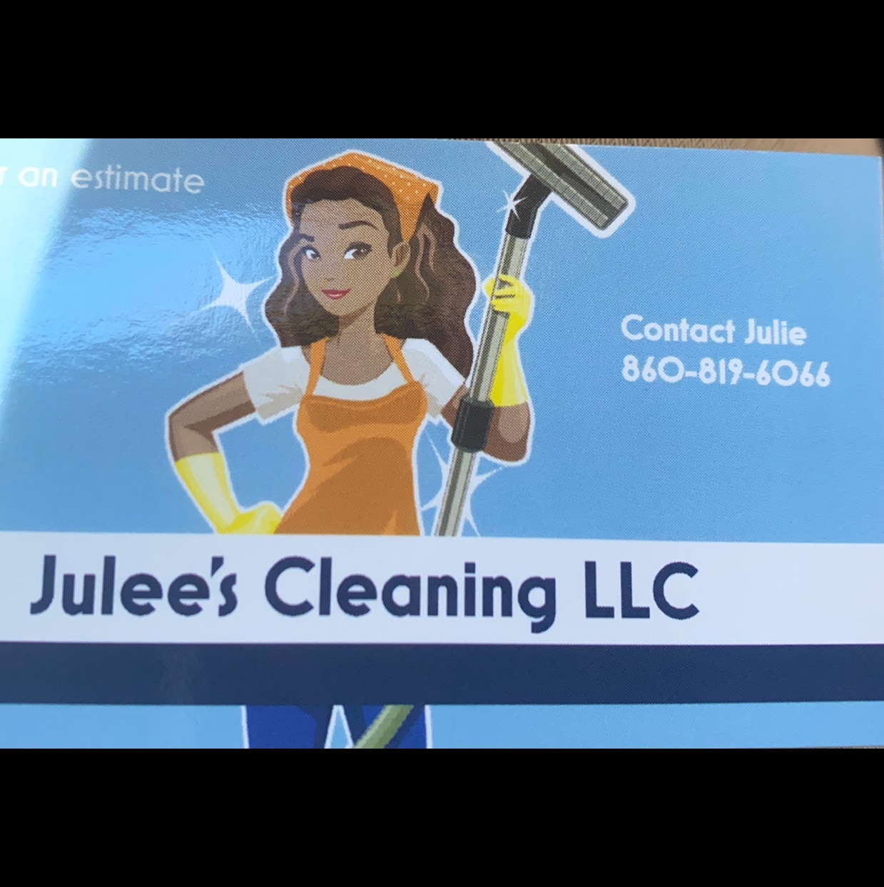 Julee's Cleaning and Lawn Care  logo