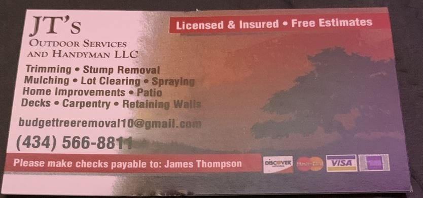 JT's Outdoor Services & Home Improvements