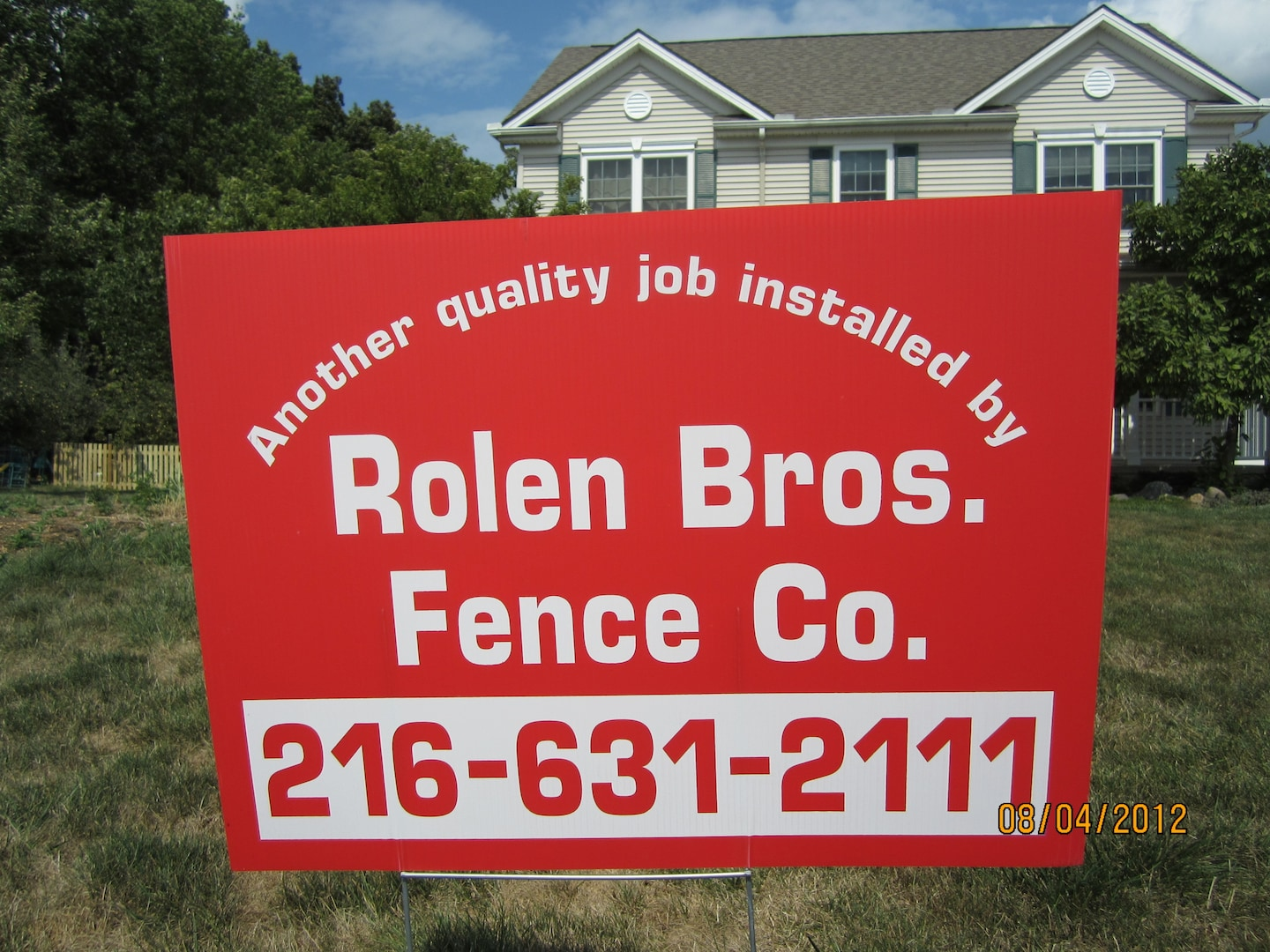 ROLEN BROTHERS FENCE CO INC