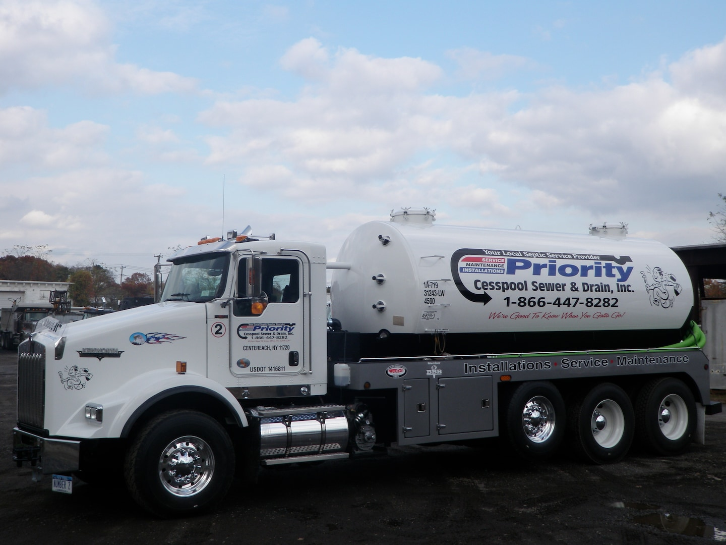PRIORITY CESSPOOL SEWER & DRAIN, INC