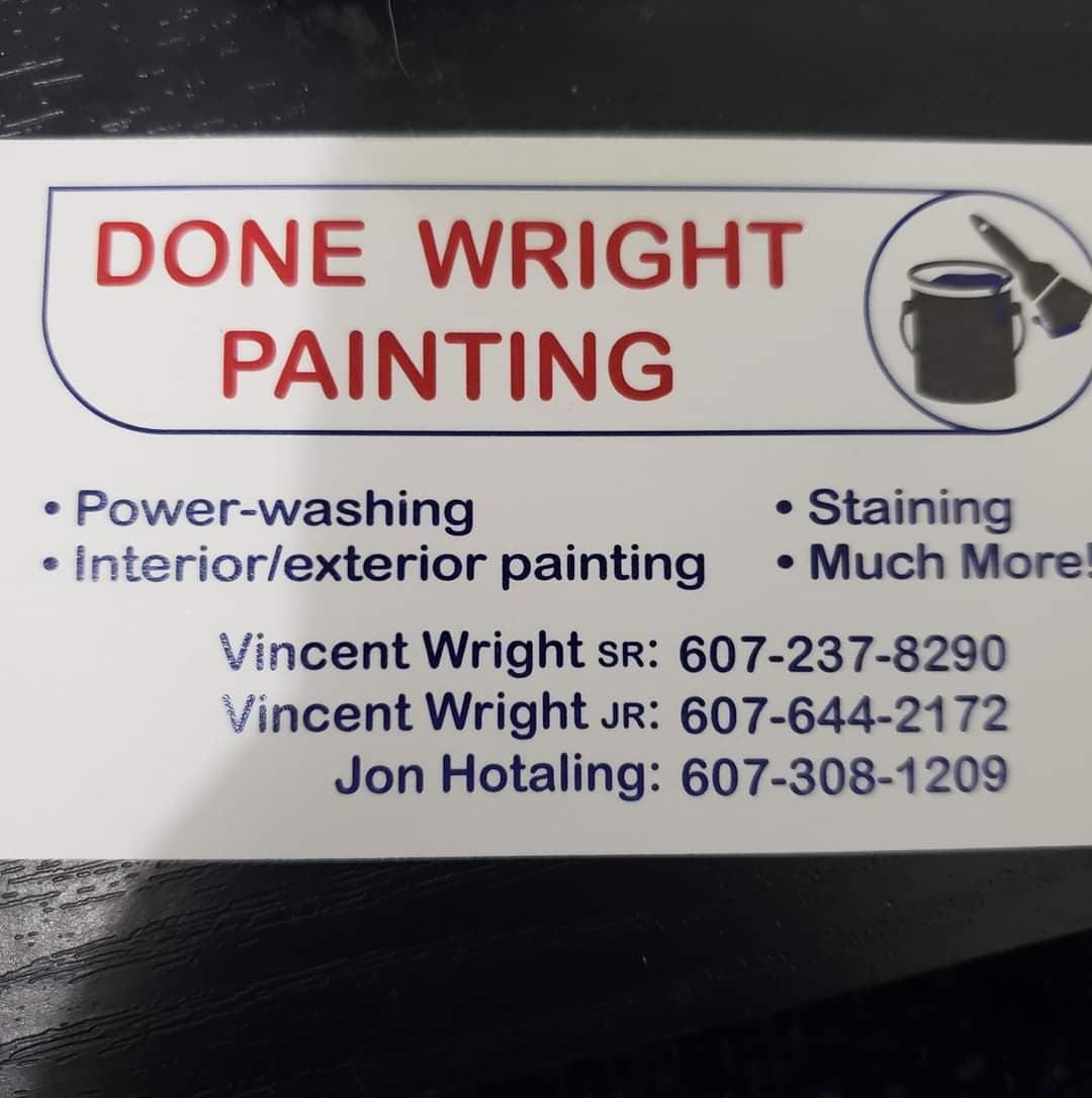 Done Wright Painting