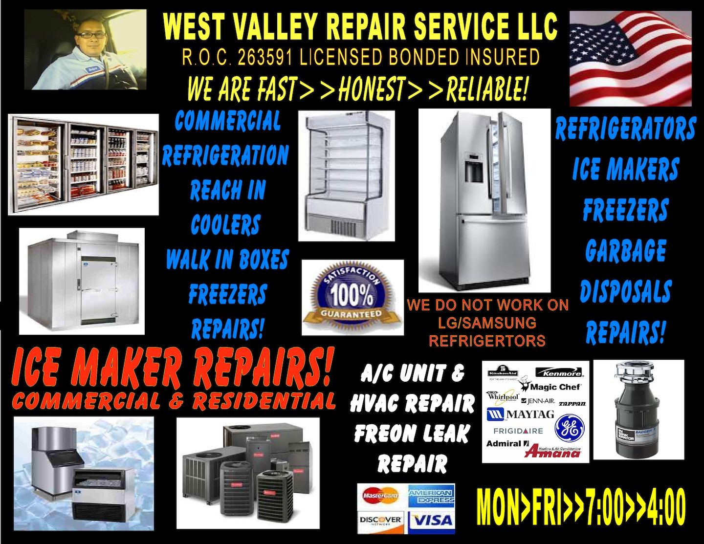 West Valley Repair Service LLC