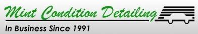 Mint Condition Detailing