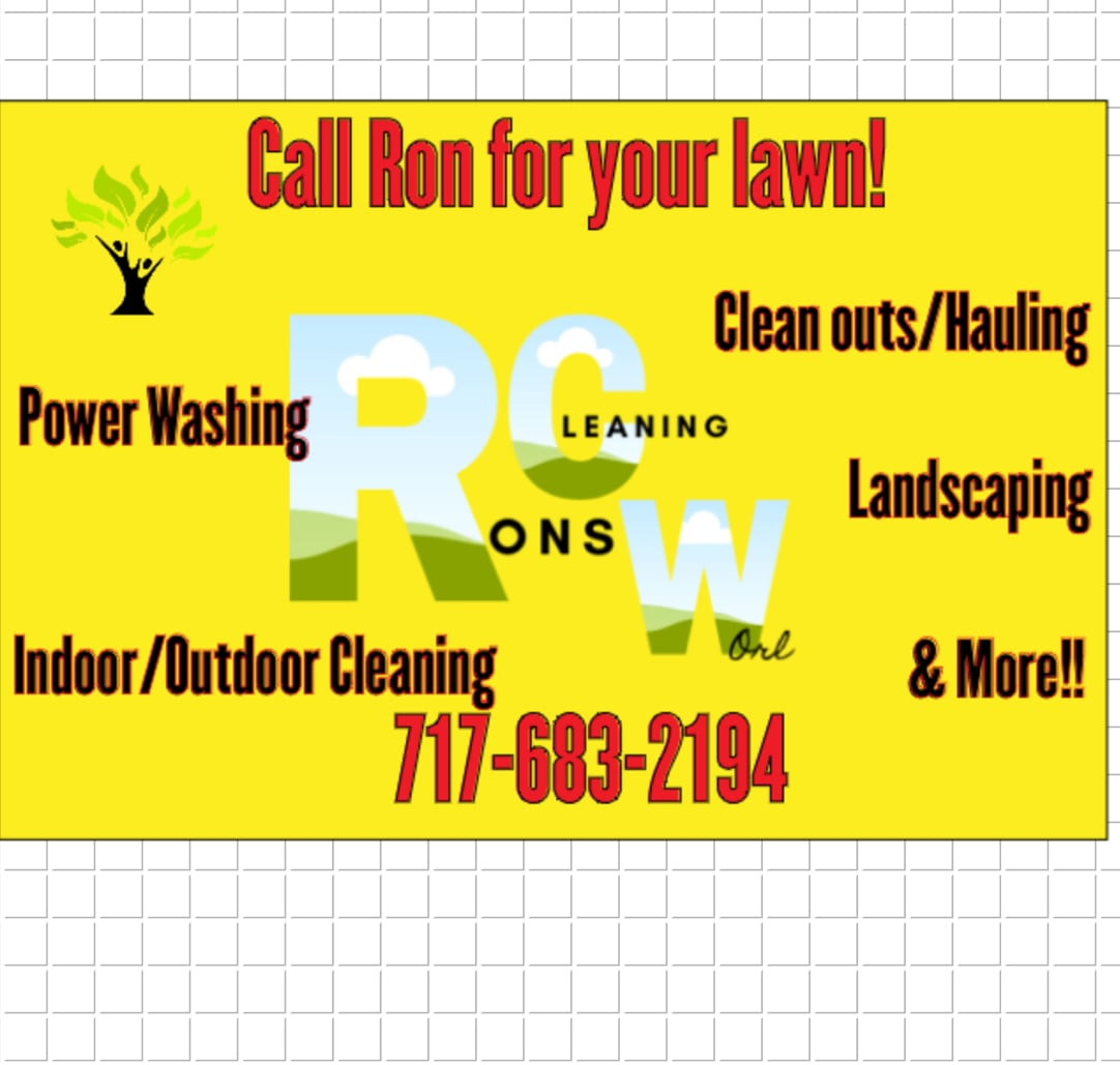 Ron's Cleaning Worl