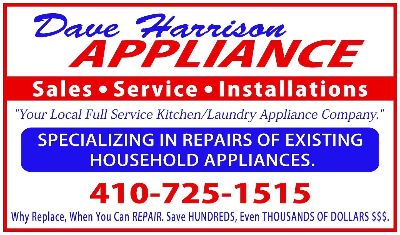 Dave Harrison Appliance Repair LLC