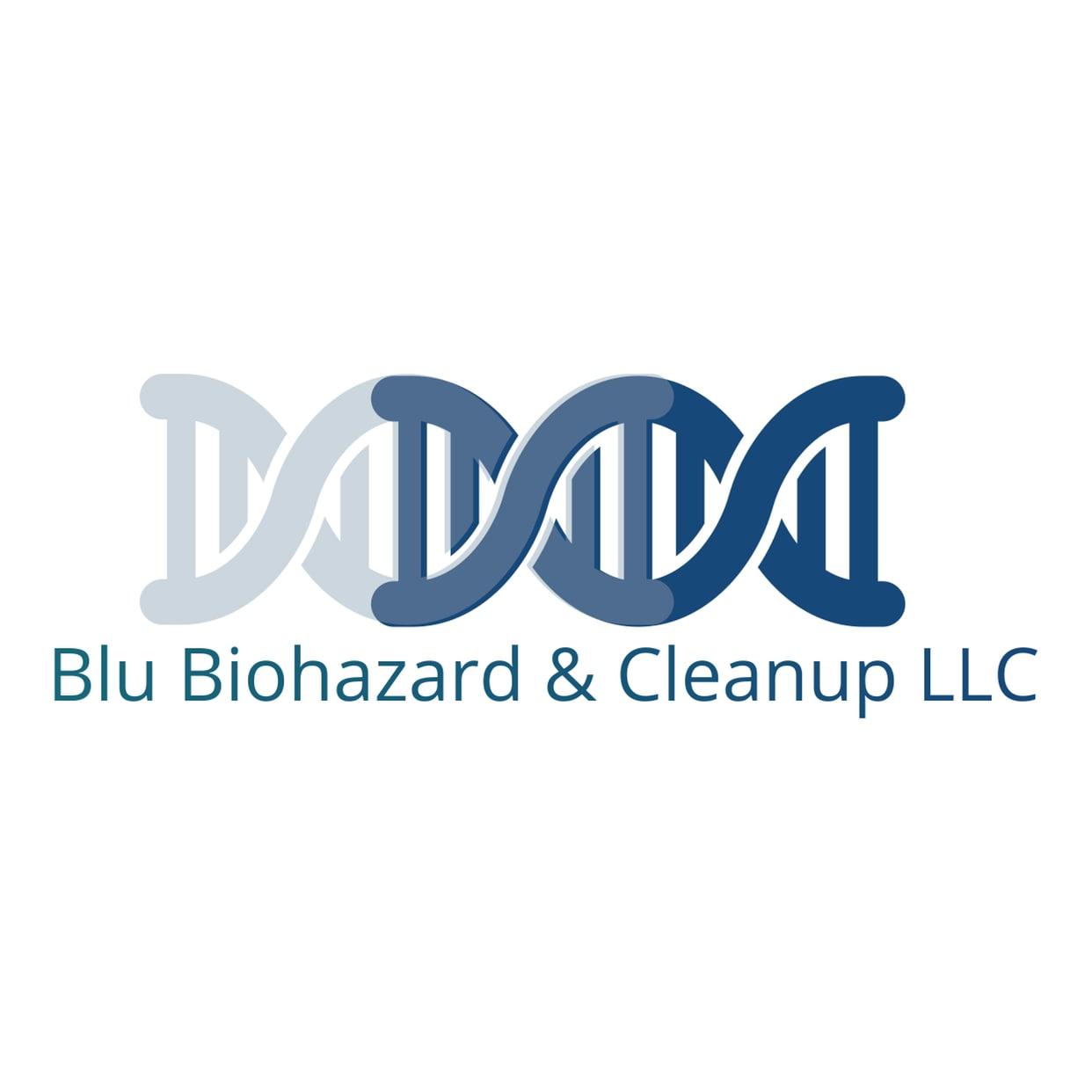 Blu Biohazard & Clean-up logo