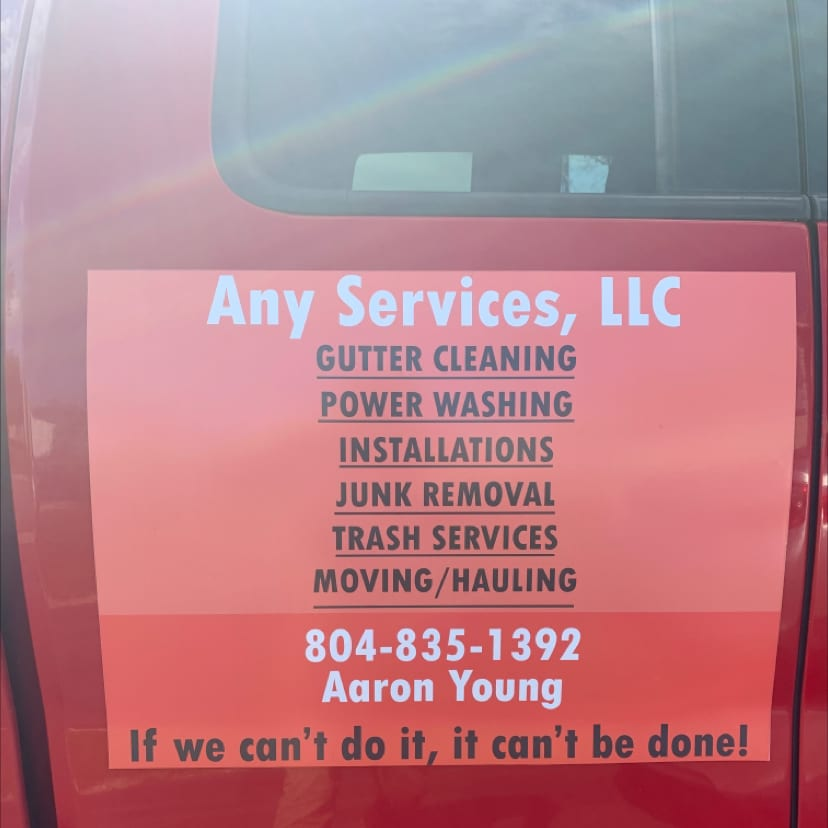 ANY SERVICES