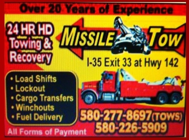 Missile Tow Reviews Ardmore Ok Angie S List