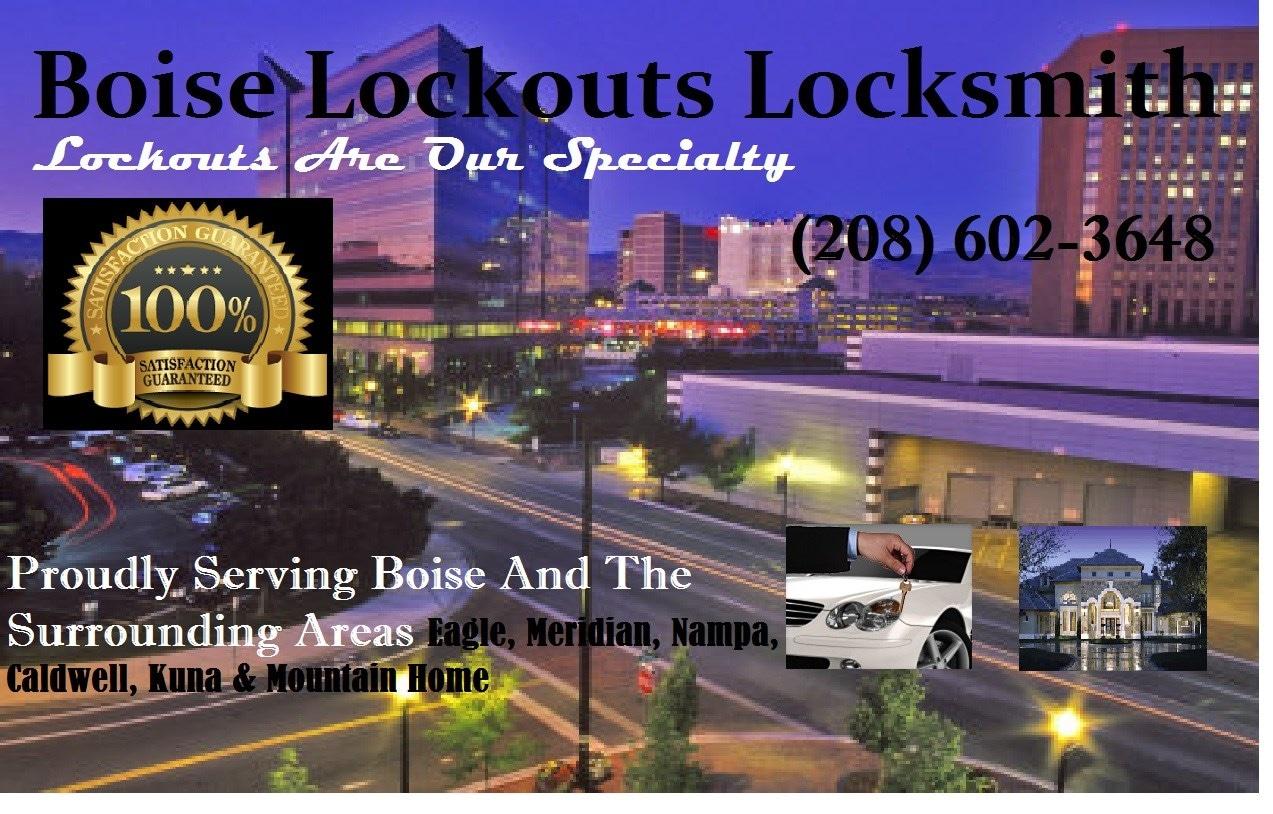 Boise Lockouts Locksmith