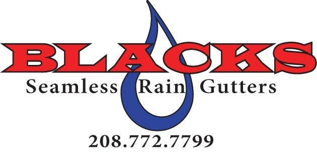 Blacks Seamless Rain Gutters