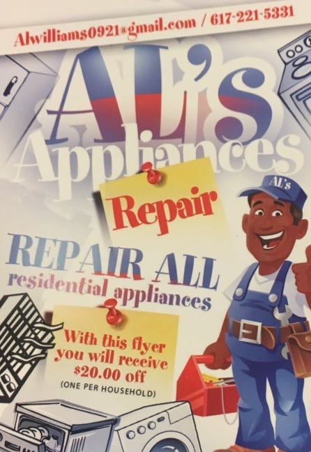AL'S APPLIANCE REPAIR