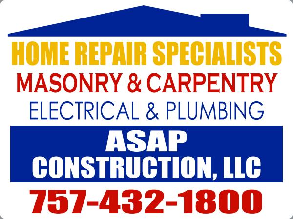 ASAP CONSTRUCTION LLC
