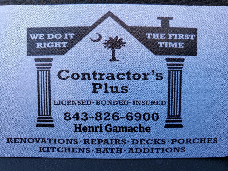 Contractor's Plus LLC