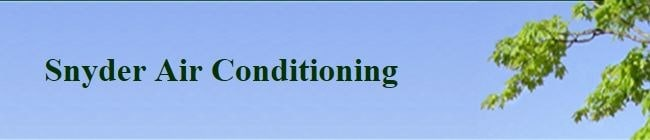 Snyder Air Conditioning logo