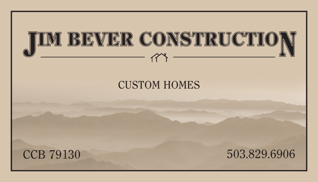 JIM BEVER CONSTRUCTION
