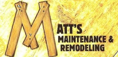 Matt's Maintenance & Remodeling