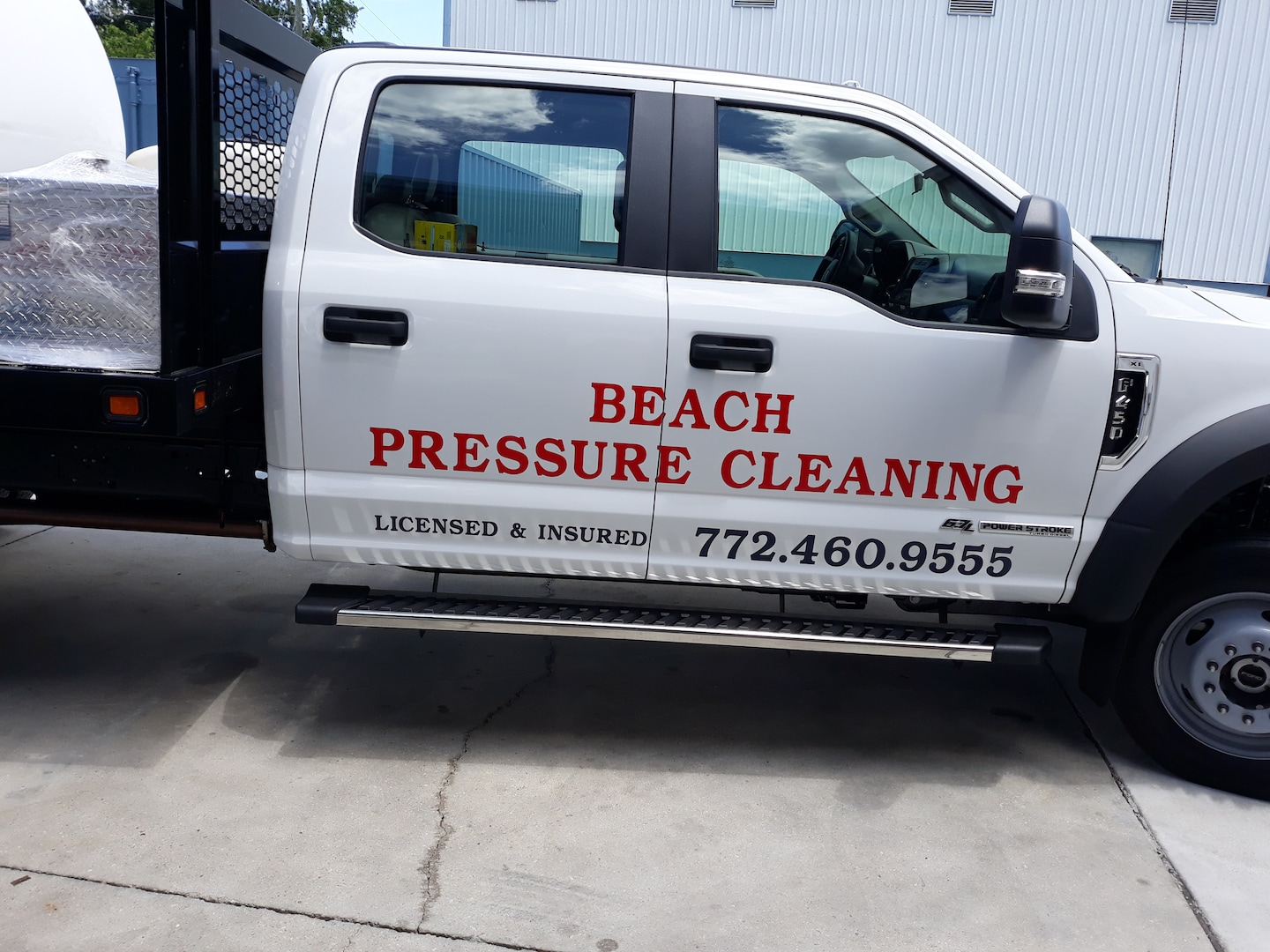 Beach Pressure Cleaning