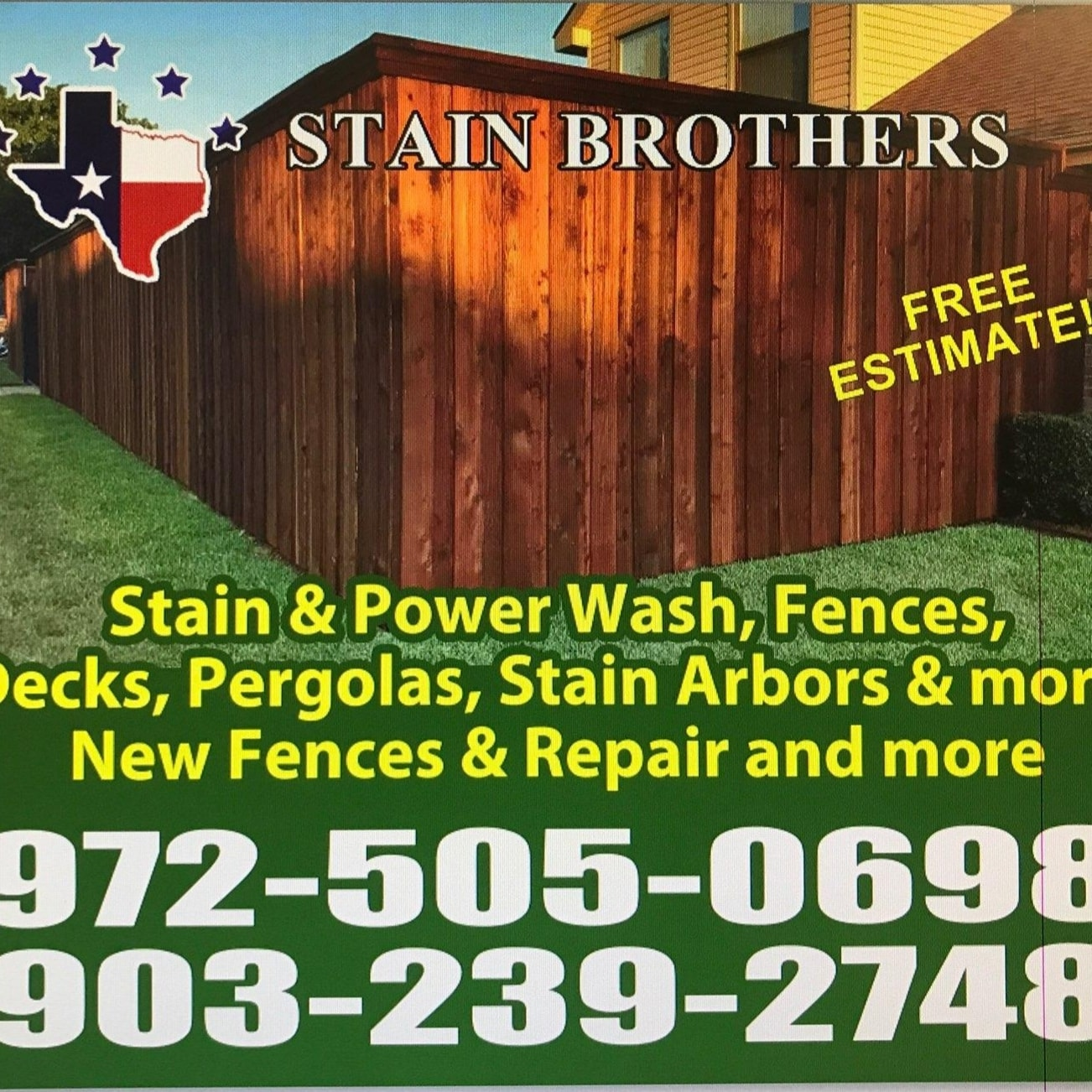 Fencing Stain Brothers