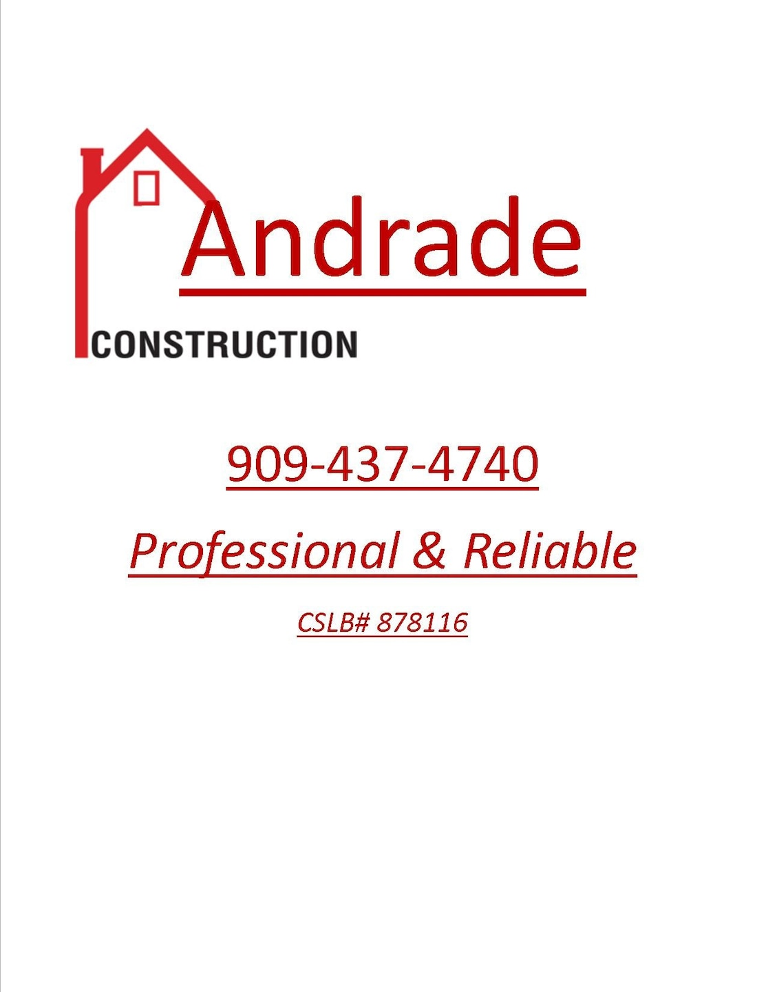 Andrade Construction
