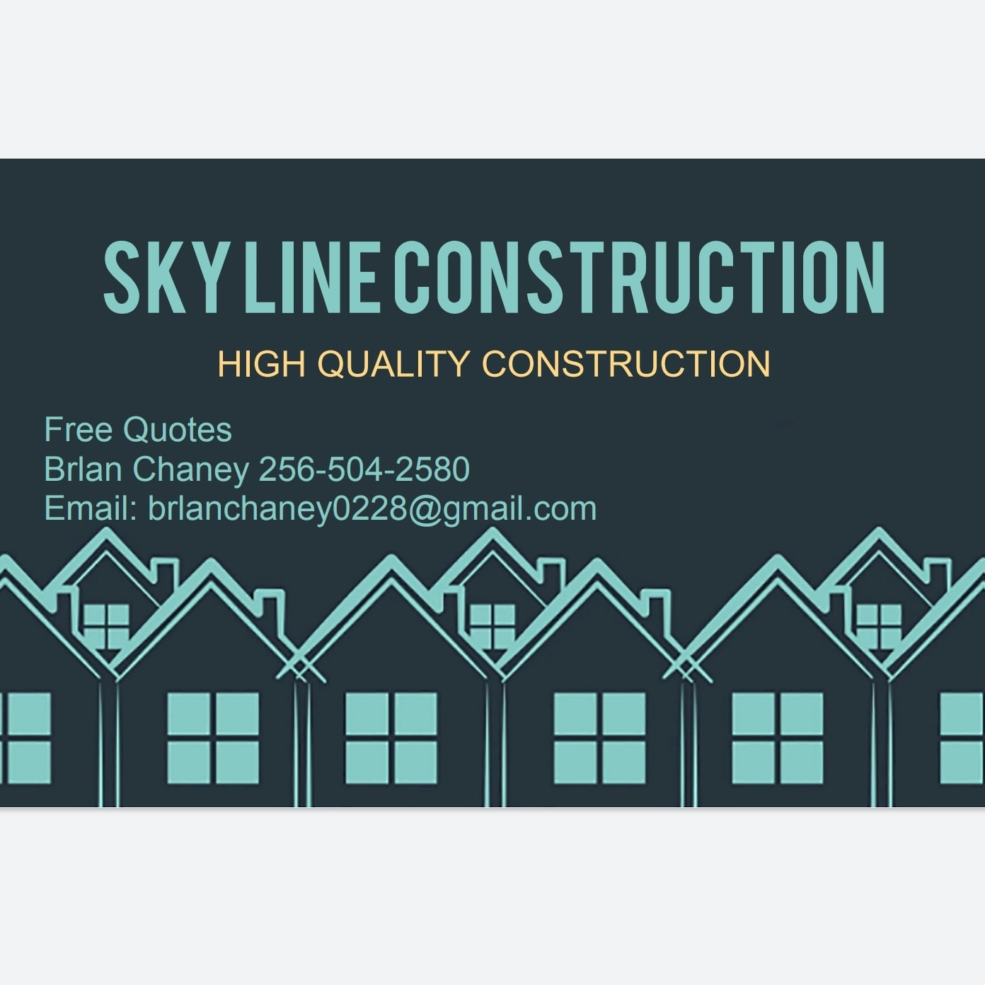 Skyline construction  logo