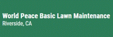 World Peace Basic Lawn Maintenance