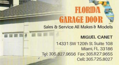 Florida Garage Door Inc.