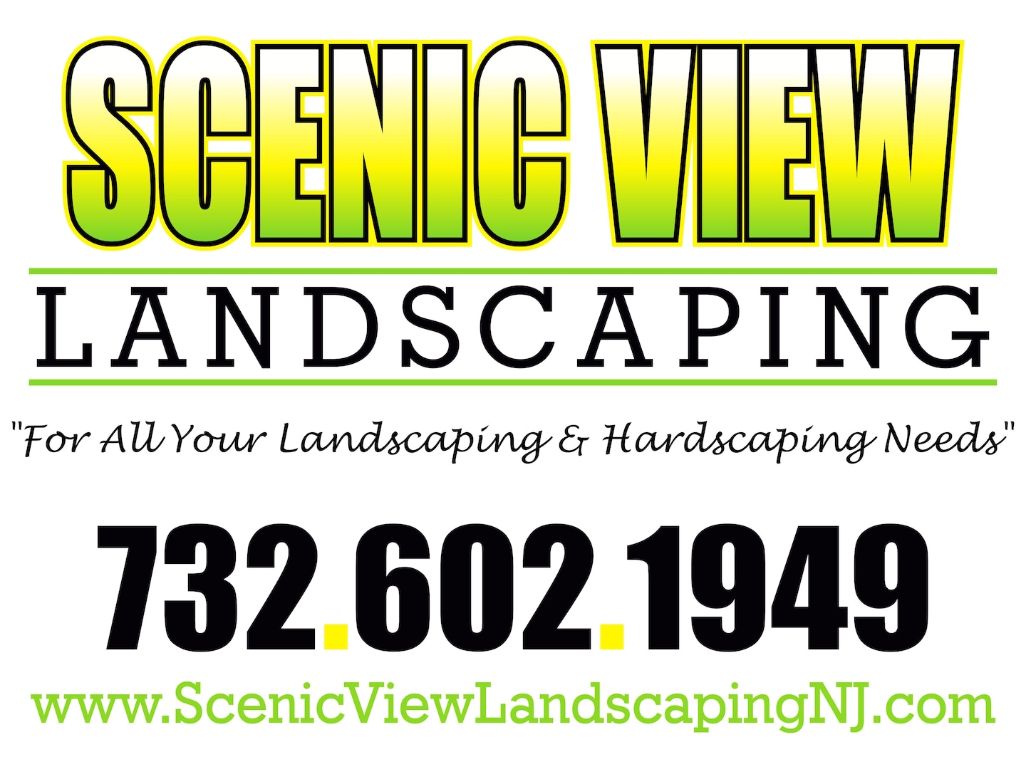 Scenic View Landscaping & Design Specialists LLC