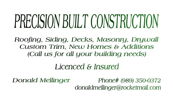 Precision Built Construction
