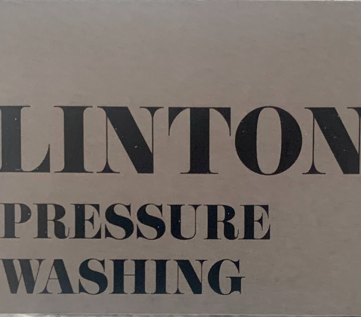 Linton Pressure Washing And Landscaping