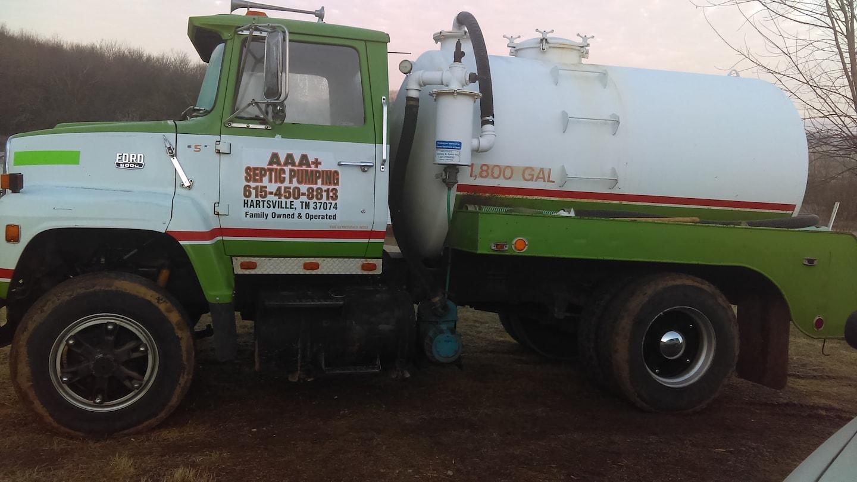 AAA+ Septic Pumping and Repair