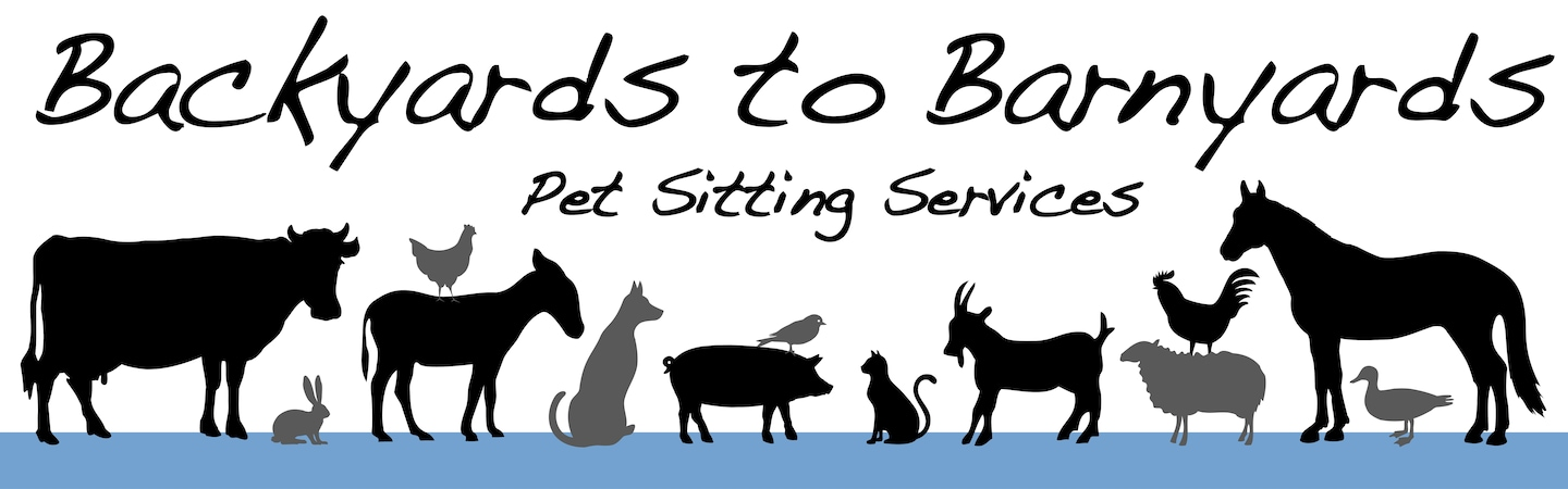 Backyards to Barnyards Pet Sitting Serices