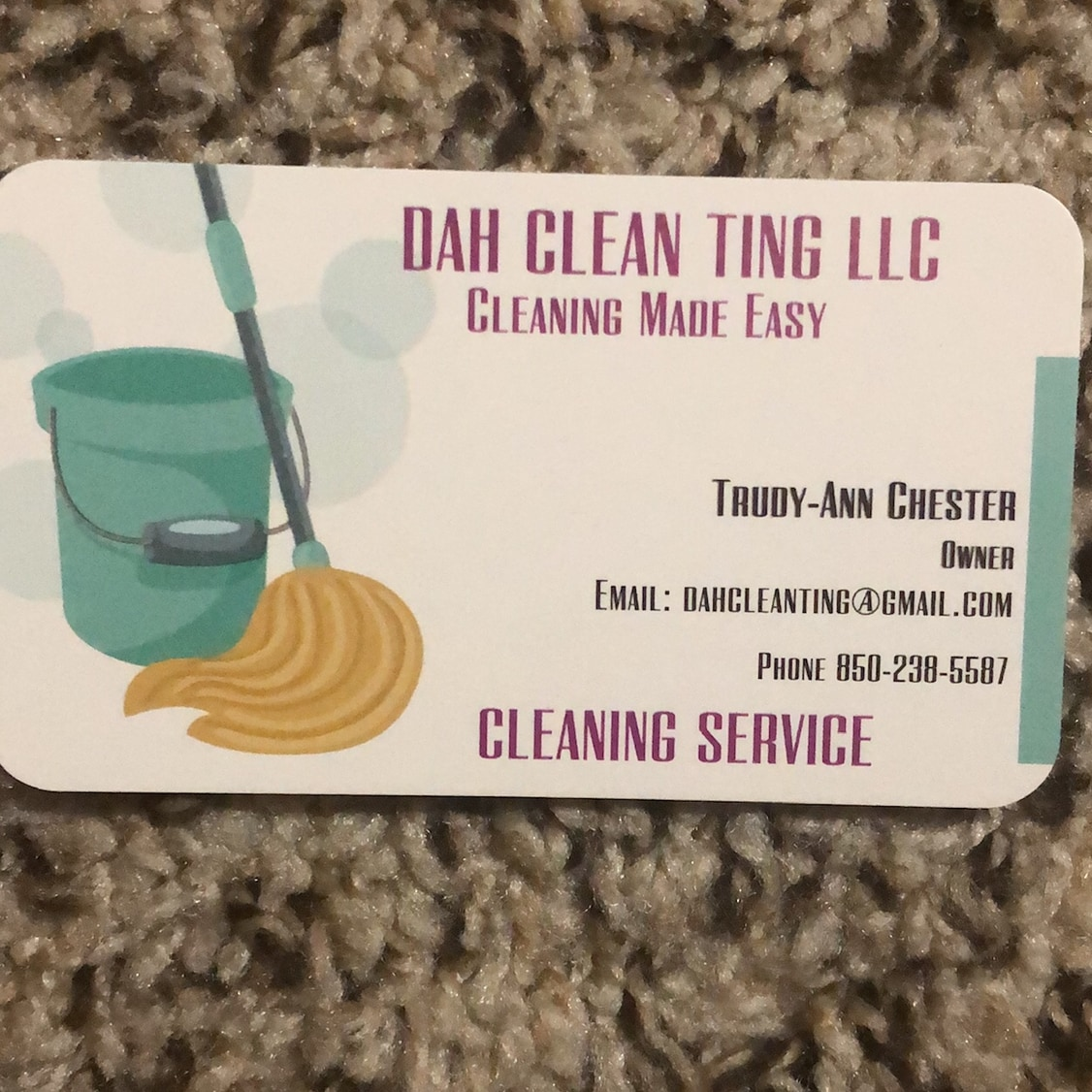 Dah Clean Ting LLC