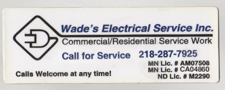 Wade's Electrical Service Inc
