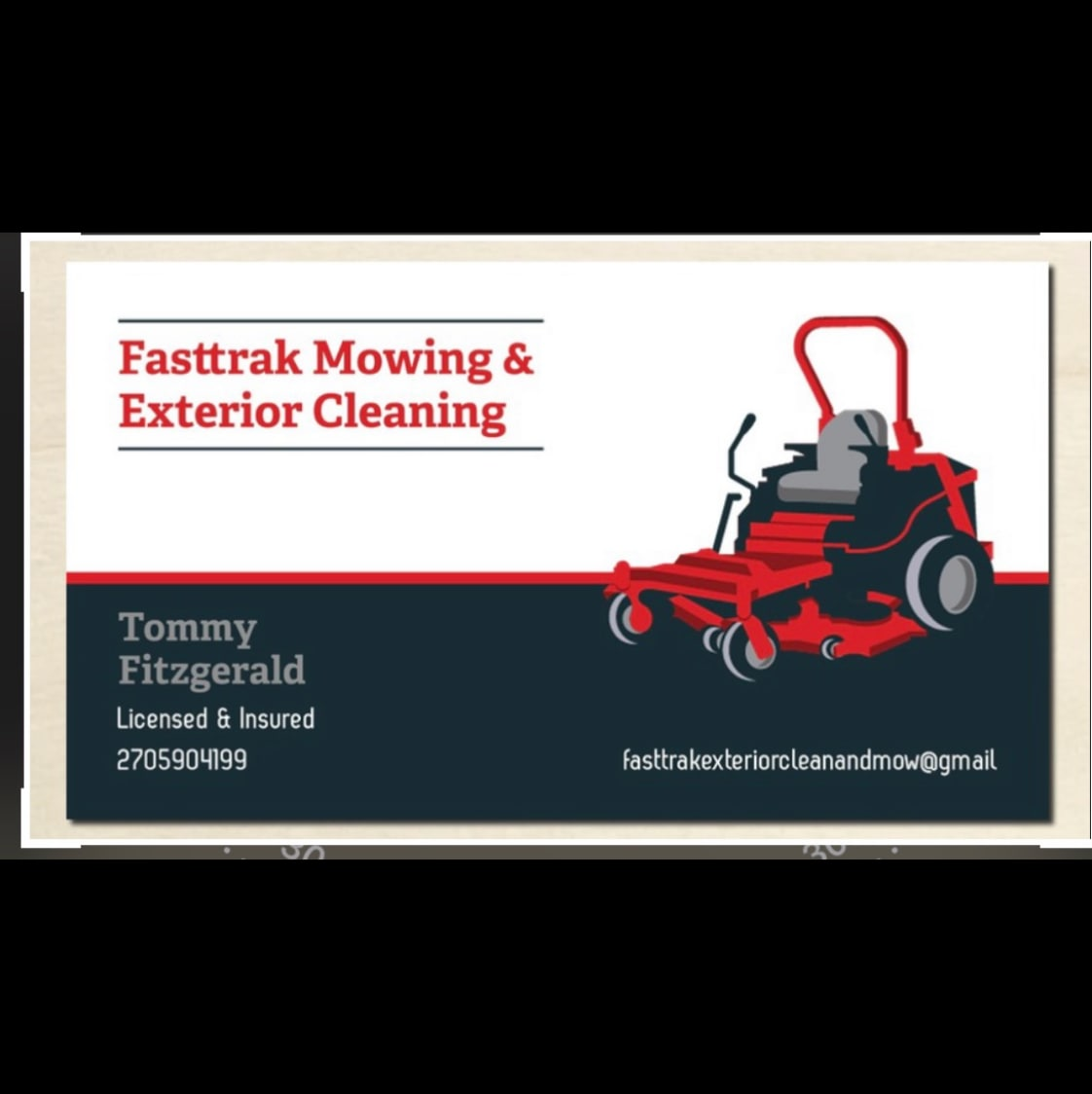 Fast Trak Exterior Clean & Mowing