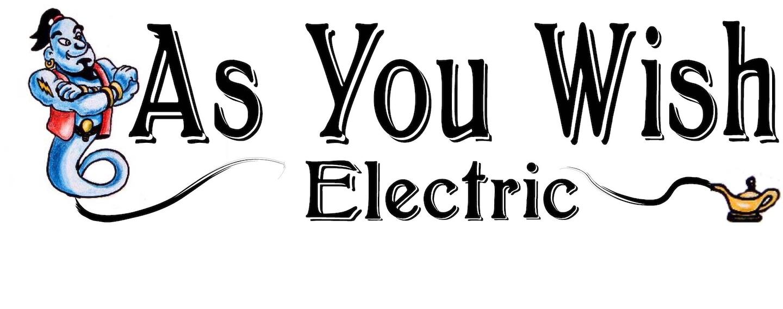 AS YOU WISH ELECTRIC logo