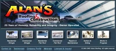 Alan's Roofing & Construction Inc