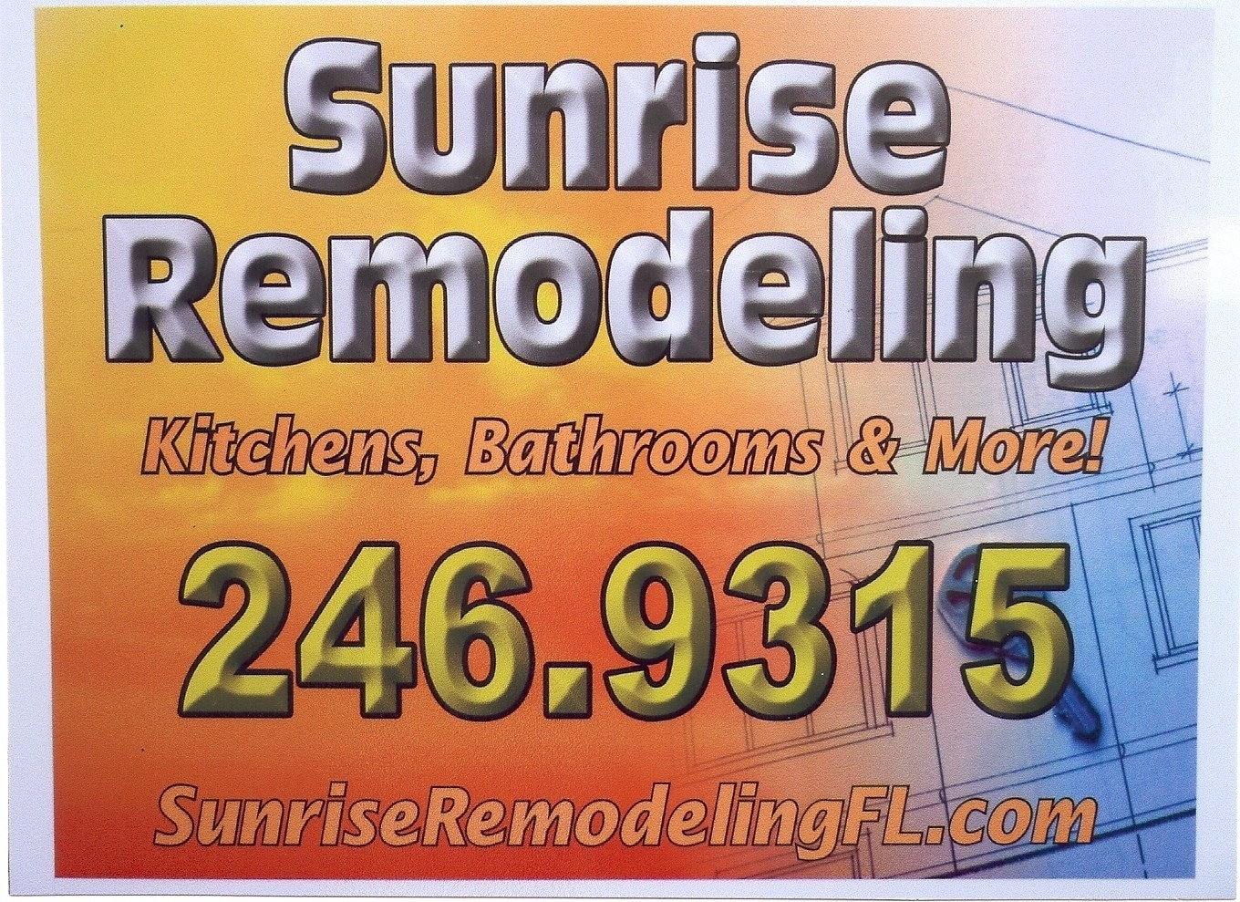 Sunrise Remodeling Inc