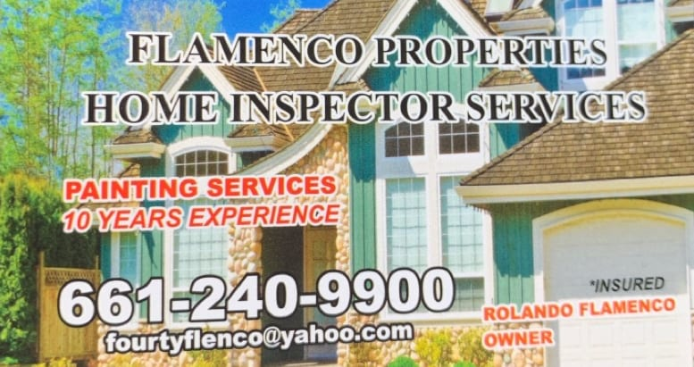 Flamenco services and home inspection