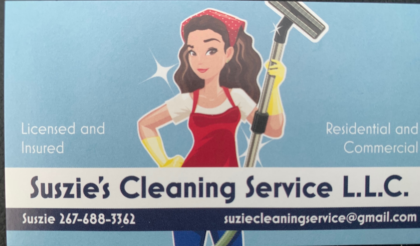 Suszies  Cleaning Service LLC.
