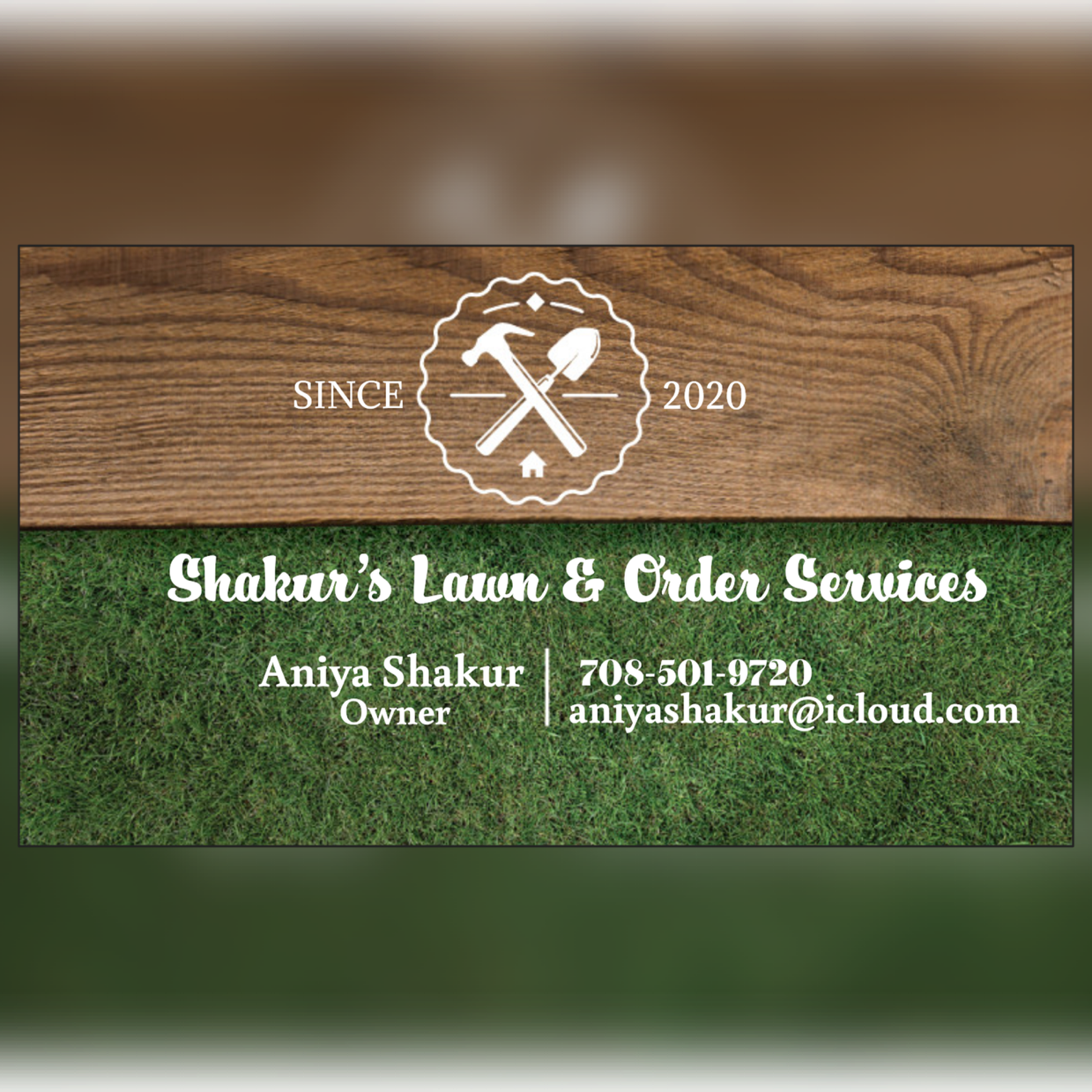 Shakurs Lawn & Order Services