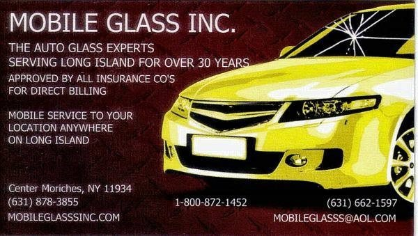 A 1 Mobile Glass Inc