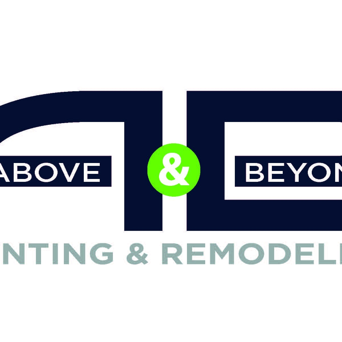 above and beyond painting and remodeling logo