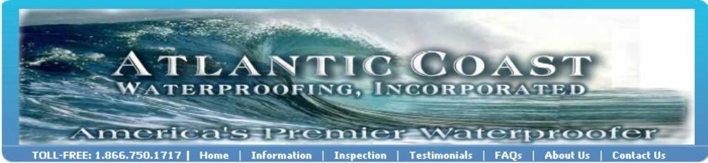 Atlantic Coast Waterproofing Inc