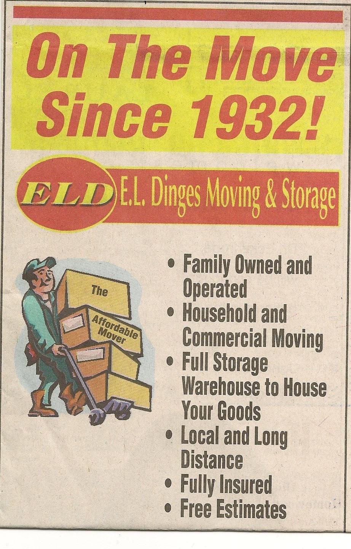 E L Dinges Moving & Storage Co