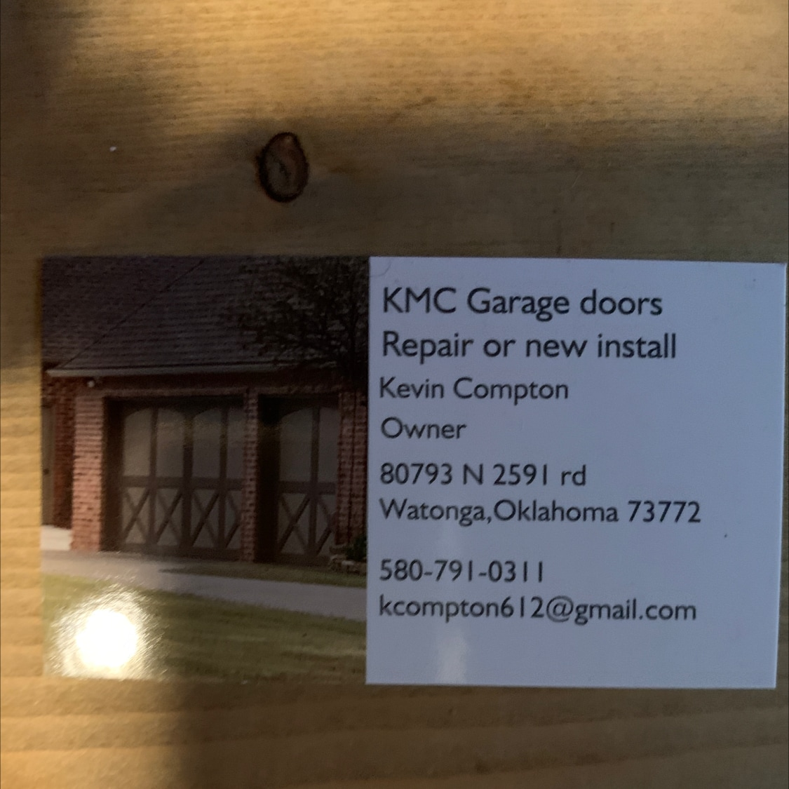 KMC Garage Doors