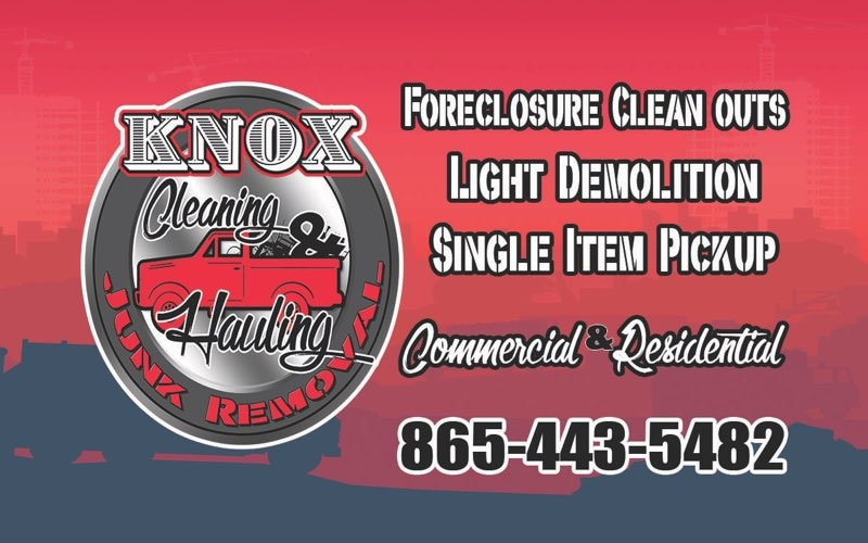 Knox Cleaning, Hauling and Junk Removal
