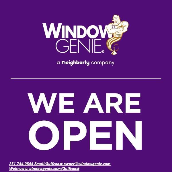 Window Genie of the Gulf Coast logo