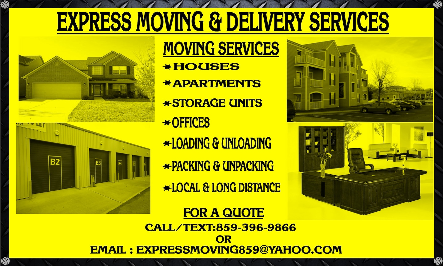 Xpress Moving and Delivery Services